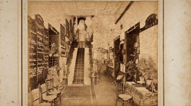 İstanbul Araştırmaları Enstitüsü,  Meşrutiyet Caddesi'nden Tarihi Bir Kesit Sunuyor